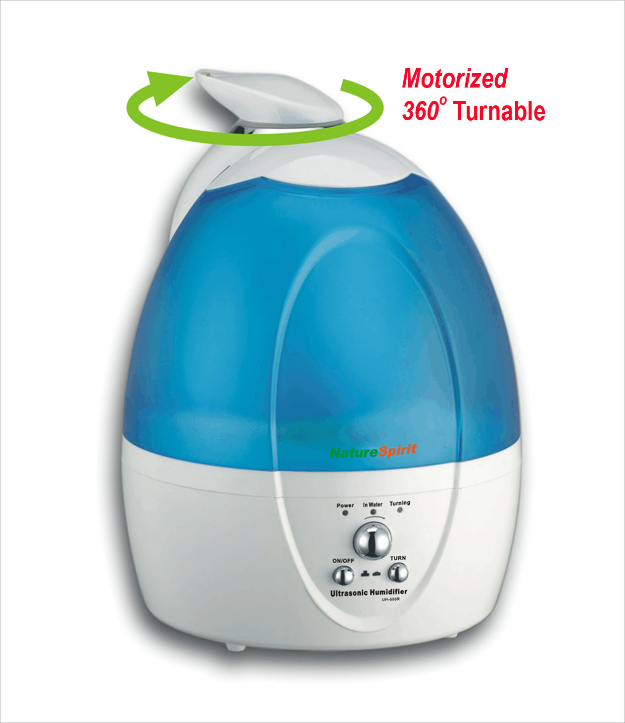 ultrasonic humidifier with self rotating head ultrasonic humidifier  #C6051C